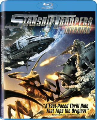 ARTIST NOT PROVIDED-STARSHIP TROOPERS:INVASION (Importación USA) Blu-Ray NUEVO