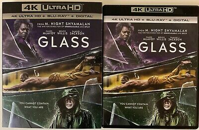 Glass 4K Ultra Hd Blu Ray 2 Disc Set + Slipcover Sleeve Free World Wide Shipping