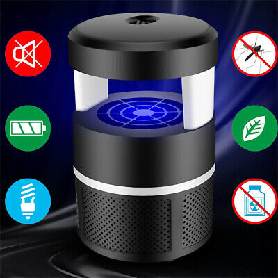 USB Safe Mosquito Killer Lamp LED Light Non-Toxic UV Insect Trap  Fly Bug Zapper