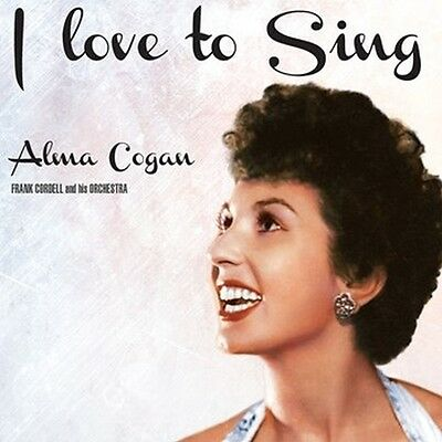 Cd Alma Cogan I Love To Sing Cheek To Cheek Blue Skies As Time Goes By Aint We G