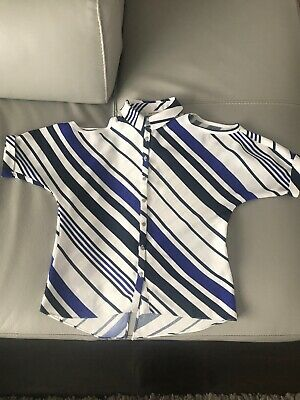 River Island Shirt Top Age 5-6 Years Stripe Worn Once