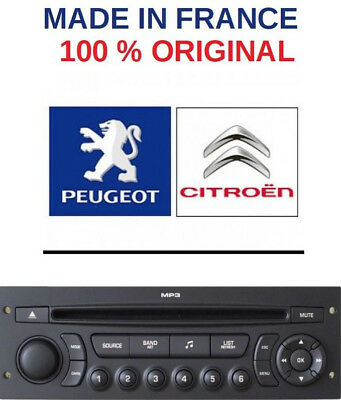 Autoradio RD45 Car Radio Bluetooth MP3 Peugeot 206, 207 307,308,807