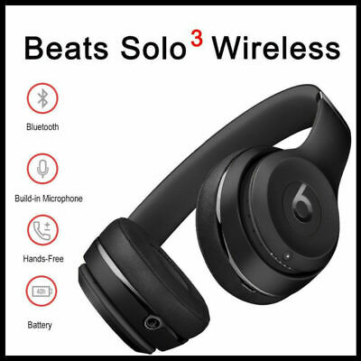 Beats Solo3 Wireless Bluetooth On-Ear Headphones Noise Cancelling 4 Colors UK