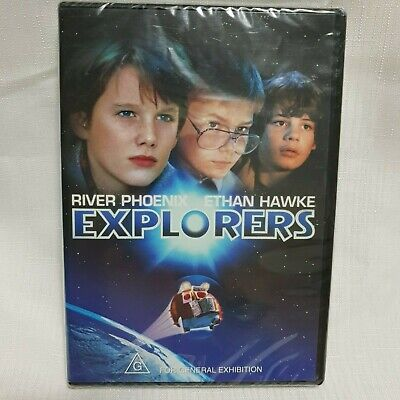 Explorers (1985) DVD Family Classic Movie (G) Region 4 River Pheonix /Ethan Hawk