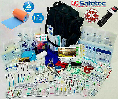 First Aid Medical Bag - Emergency Trauma Kit - Paramedic First Responder Pack