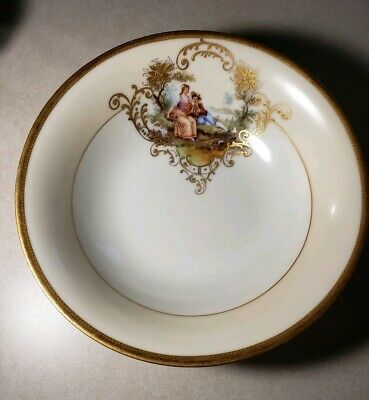 Vintage Rare Hand painted A R Germany Bowl