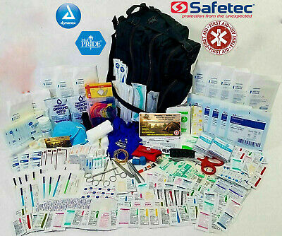 First Aid Kit All Purpose - Emergency Trauma Outdoor Travel Bag - Survival EMT