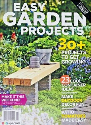 """Country Gardens: """"EASY GARDEN PROJECTS"""" Magazine ~ Container Ideas ~ NEW (2017)"""
