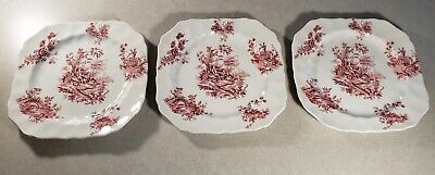 Set of 3 Vinatge Pastorale Toile De Jouy Johnson Brothers Made in England