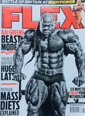 FLEX Joe Weiders BODY BUILDING Magazine August 2014