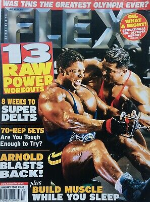 FLEX Joe Weiders BODY BUILDING Magazine January 2005