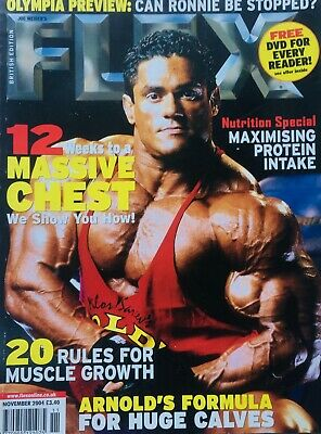 FLEX Joe Weiders BODY BUILDING Magazine November 2004