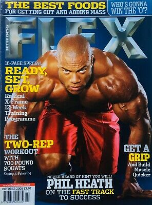 FLEX Joe Weiders BODY BUILDING Magazine October 2005