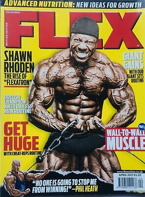FLEX Joe Weiders BODY BUILDING Magazine April 2013