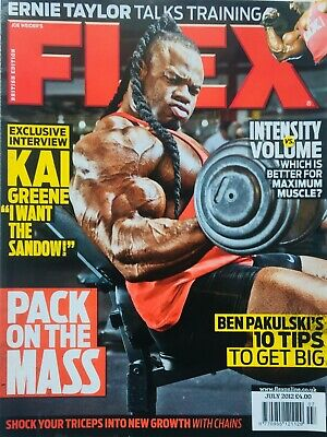 FLEX Joe Weiders BODY BUILDING Magazine June 2012