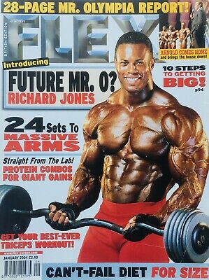 FLEX Joe Weiders BODY BUILDING Magazine January 2004