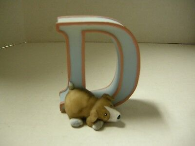 "Child to Cherish 3"" Pastel Letter ""D"", New"