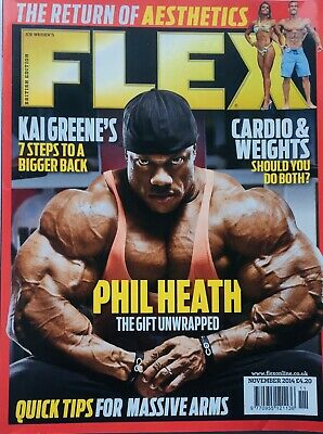 FLEX Joe Weiders BODY BUILDING Magazine November 2014