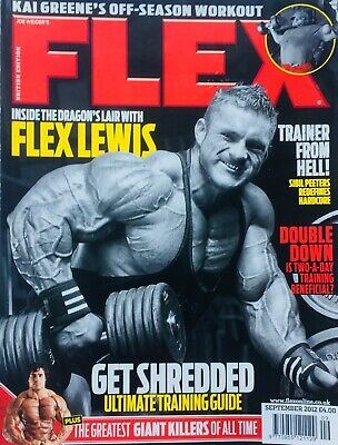 FLEX Joe Weiders BODY BUILDING Magazine September 2012