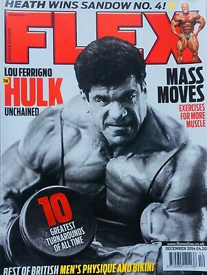 FLEX Joe Weiders BODY BUILDING Magazine December 2014