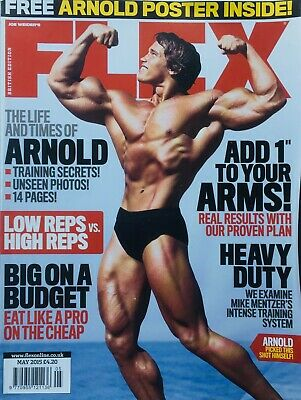 FLEX Joe Weiders BODY BUILDING Magazine May 2015