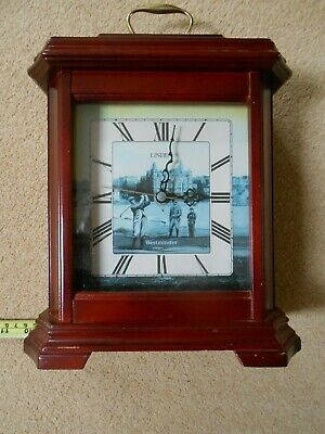 Mantle Clock. Linden Quartz movement with Westminster chimes. St. Andrews. Golf