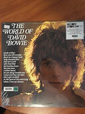 THE WORLD OF DAVID BOWIE NEW/SEALED RSD 2019 RECORD STORE DAY Vinyl LP