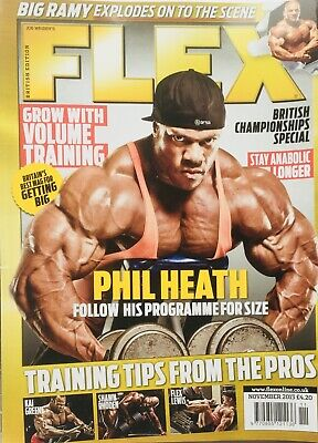 FLEX Joe Weiders BODY BUILDING Magazine November 2013