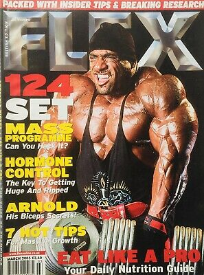 FLEX Joe Weiders BODY BUILDING Magazine March 2005