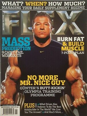FLEX Joe Weiders BODY BUILDING Magazine November 2005