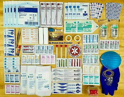 First Aid Wound Care Kit - No Cheap Foreign Crap You Will Regret! - Trauma Kit