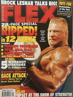 FLEX Joe Weiders BODY BUILDING Magazine March 2004