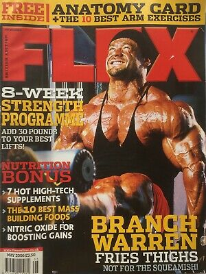 FLEX Joe Weiders BODY BUILDING Magazine May 2006