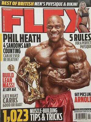 FLEX Joe Weiders BODY BUILDING Magazine February 2015
