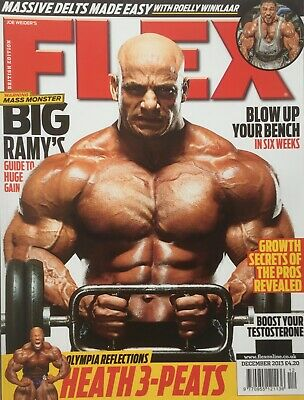 FLEX Joe Weiders BODY BUILDING Magazine December 2013