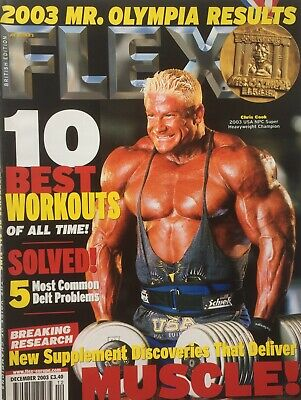 FLEX Joe Weiders BODY BUILDING Magazine December 2003
