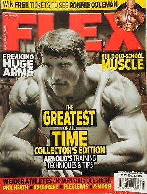 FLEX Joe Weiders BODY BUILDING Magazine May 2003