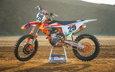 2019 Factory KTM Graphics Kit SX SXF 125 250 450 ALL Years