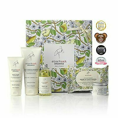 + Storksak Organics Baby Spa body Wash Oil Body travel cosmos Gift Box set  65,3