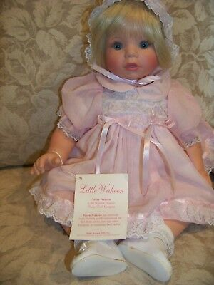 """Susan Wakeen Thursday/'s Child...has far to go 8/"""" DOLL Blue Outfit New"""