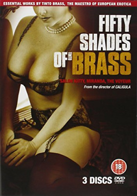 Tinto Brass: 50 Shades of Brass (UK IMPORT) DVD [REGION 2] NEW