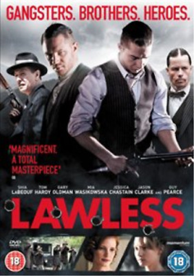 Tom Hardy, Jessica Chastain-Lawless (UK IMPORT) DVD [REGION 2] NEW