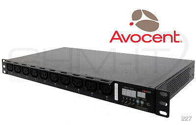 AVOCENT PM3000 PM 3000 PDU Power Distributon 10-Outlets Unit