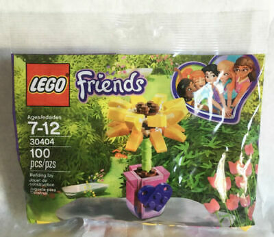 SUNFLOWER POLY NEW LEGO FRIENDS FRIENDSHIP FLOWER 30404 FREE SHIPPING!!!