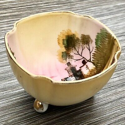 Antique Japanese Bowl Hand Painted