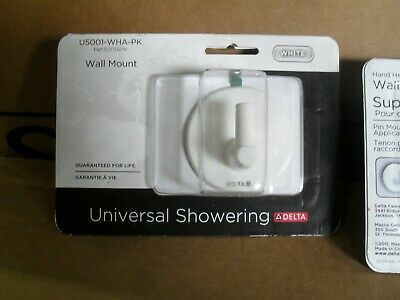 Delta Part U5001-WHA-PK Adhesive Pin wall mount for hand shower White