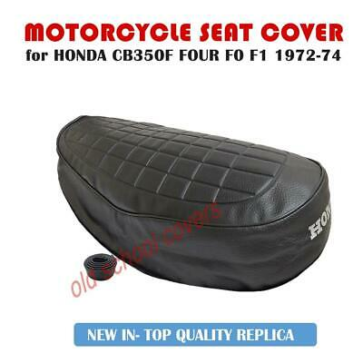 HONDA CB350F FOUR CB 350 F0 FI MODELS 1972-74  SEAT COVER with SEAT STRAP