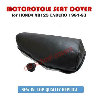 Honda Xr125 Xr 125 Enduro 1981 -1983 Motorcycle Seat Cover With Strap