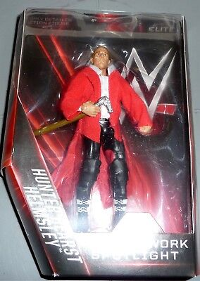 TRIPLE H Hunter Hearst Helmsley WWE Mattel Elite Network Spotlight Figure DMG PK