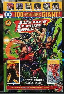 DC 100-PAGE GIANT # 7 Walmart Justice League Of America Wonder Woman